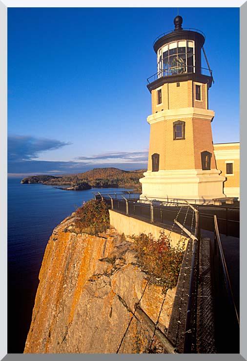Visions of America Split Rock Lighthouse State Park, Minnesota stretched canvas art print
