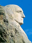 Visions of America George Washington on Mount Rushmore