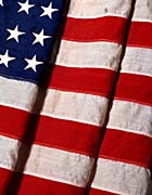 Visions of America American Flag Close-up