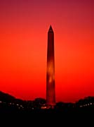Visions of America Washington Monument at Sunset, Washington D C
