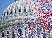 Visions of America U S Capitol Building Dome at Bicentennial Celebration
