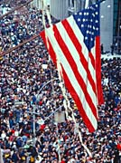 Visions of America American Flag at a Tickertape Parade, New York