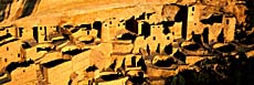 Visions of America Cliff Palace in the Anasazi Indian Ruins