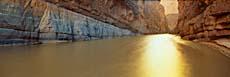 Visions of America Rio Grande River on the Mexico - U S Border
