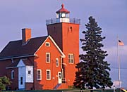 Visions of America Two Harbors Light Station on Lake Superior