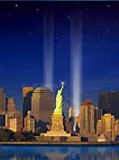 Visions of America World Trade Center Light Memorial
