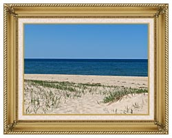 Brandie Newmon Race Point Beach Provincetown Massachusetts canvas with gallery gold wood frame