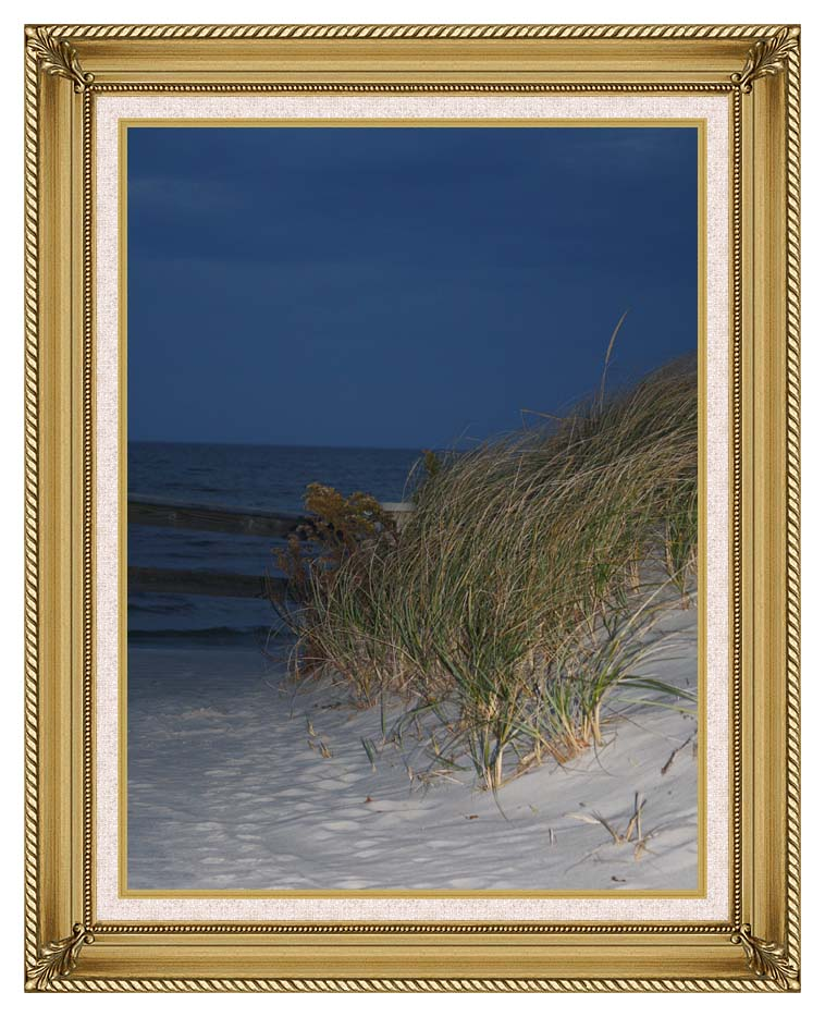 Kim O'Leary Photography Night Dunes with Gallery Gold Frame w/Liner