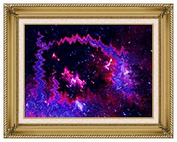 Lora Ashley Thinking Of Your Touch canvas with gallery gold wood frame