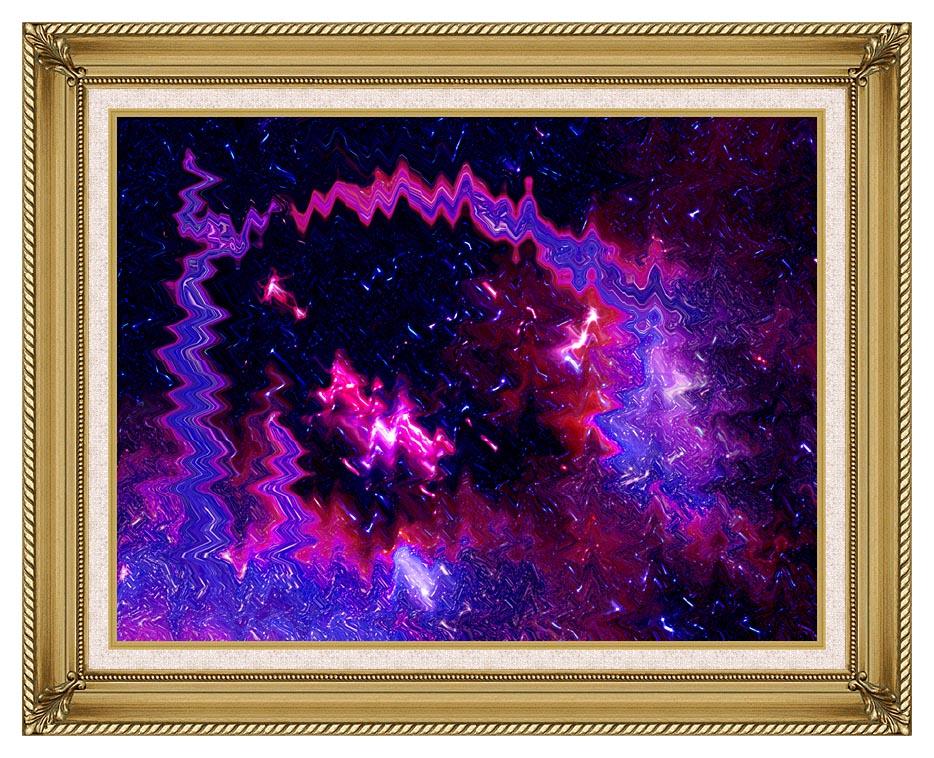 Lora Ashley Thinking of Your Touch with Gallery Gold Frame w/Liner
