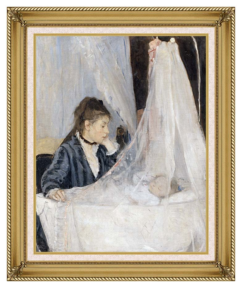 Berthe Morisot The Cradle with Gallery Gold Frame w/Liner