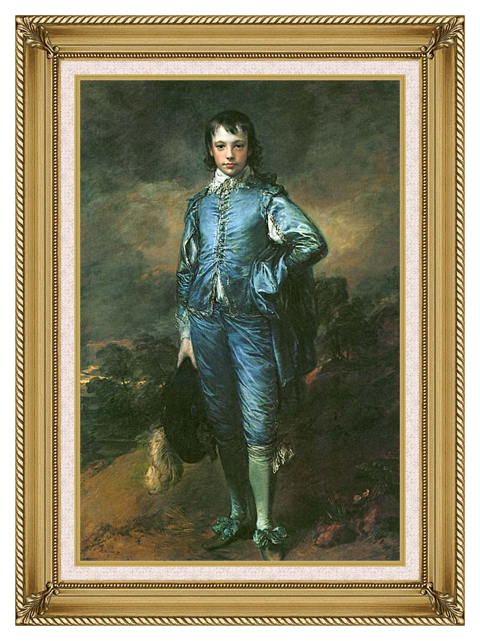 Thomas Gainsborough The Blue Boy with Gallery Gold Frame w/Liner