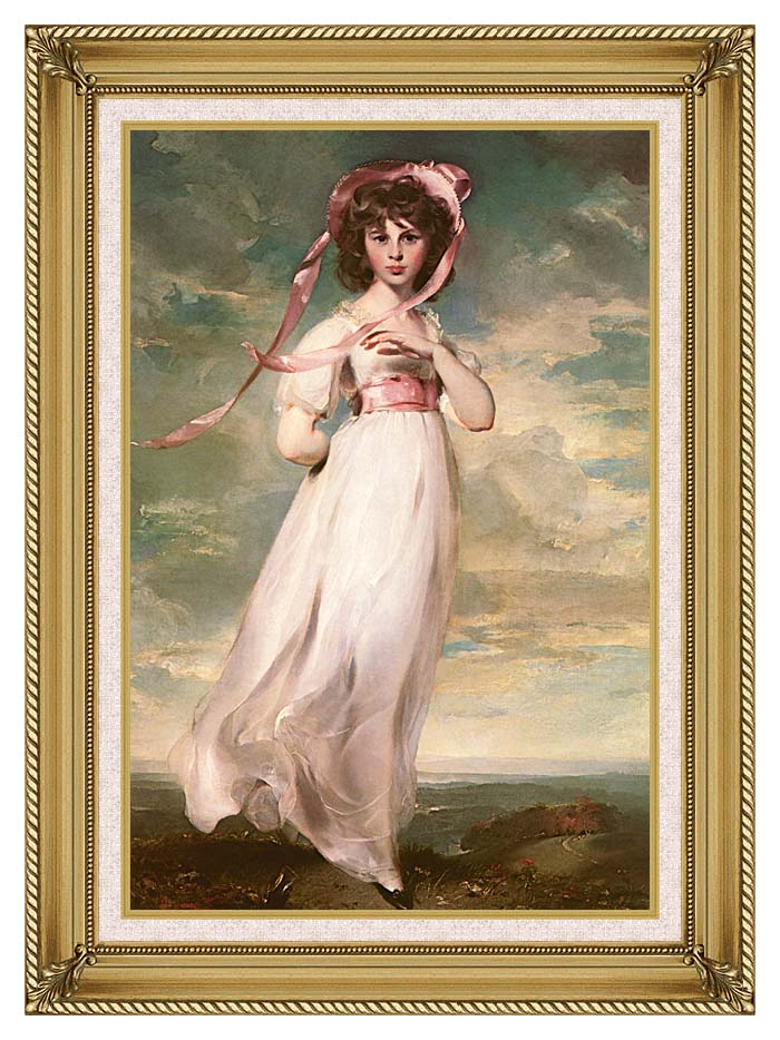 Thomas Lawrence Pinkie with Gallery Gold Frame w/Liner