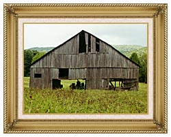 Ray Porter Tennessee Playhouse canvas with gallery gold wood frame