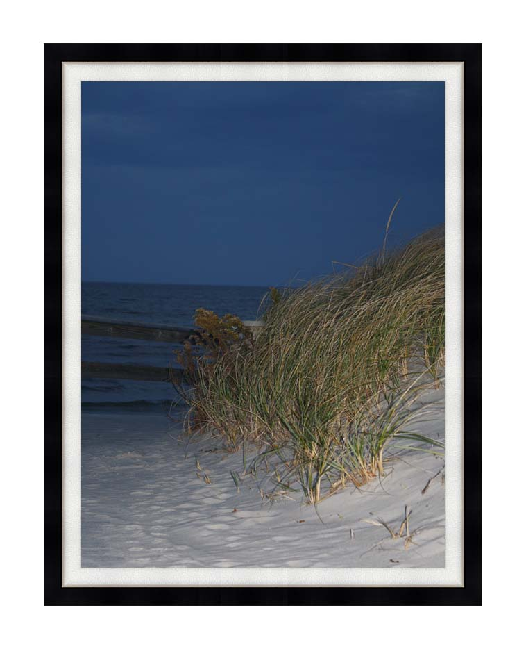 Kim O'Leary Photography Night Dunes with Modern Black Frame