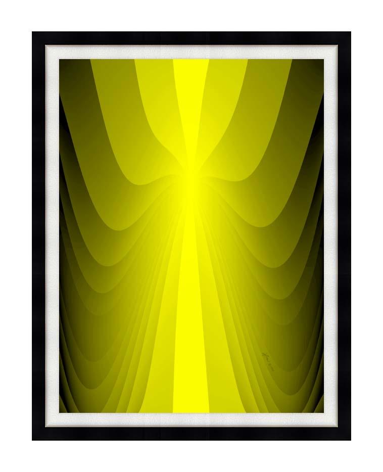 Lora Ashley Lemon Slide with Modern Black Frame