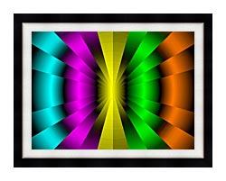 Lora Ashley Balanced Motion canvas with modern black frame