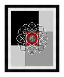 Lora Ashley Nucleus canvas with modern black frame