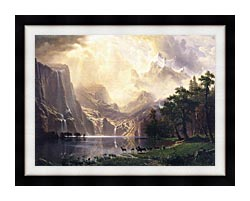 landscapes framed canvas art