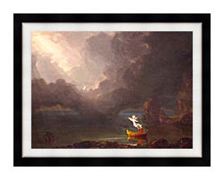 Thomas Cole Voyage Of Life Old Age 1842 canvas with modern black frame