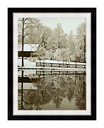 Ray Porter Images canvas with modern black frame