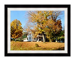 Ray Porter Country House canvas with modern black frame