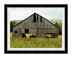 Ray Porter Tennessee Playhouse canvas with modern black frame