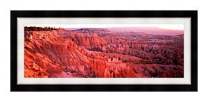 Visions of America Bryce Canyon National Park At Sunrise canvas with Modern Black frame
