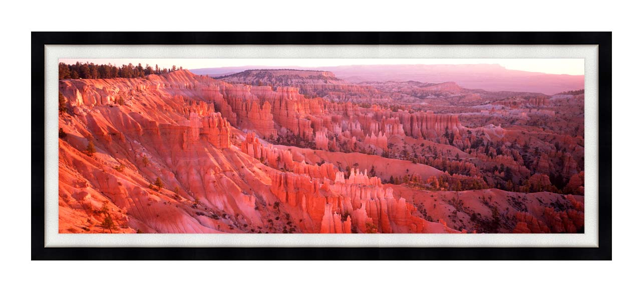Visions of America Bryce Canyon National Park at Sunrise with Modern Black Frame