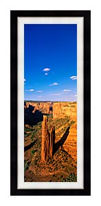 Visions of America Spider Rock 800 Ft High On South Rim Drive canvas with Modern Black frame
