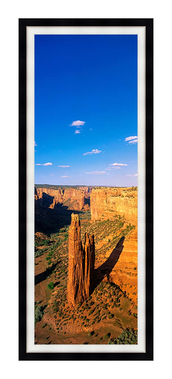 Visions of America Spider Rock 800 Ft High on South Rim Drive with Modern Black Frame