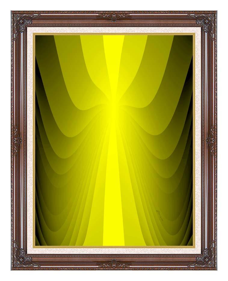 Lora Ashley Lemon Slide with Dark Regal Frame w/Liner