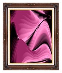 Lora Ashley Desert Oasis canvas with dark regal wood frame