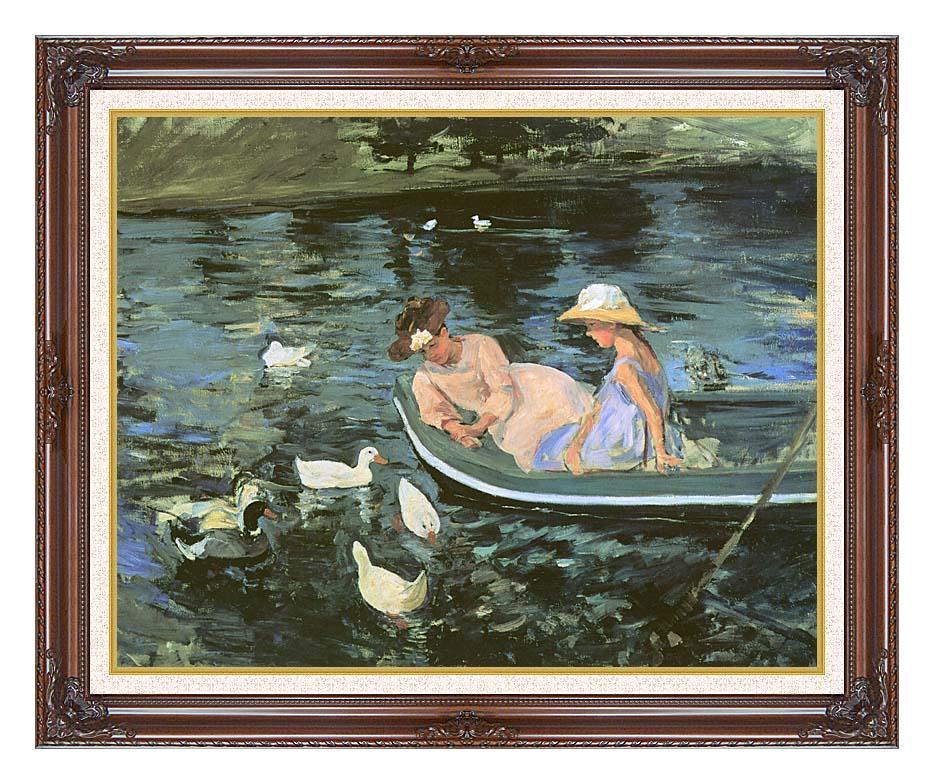 Mary Cassatt Summertime with Dark Regal Frame w/Liner