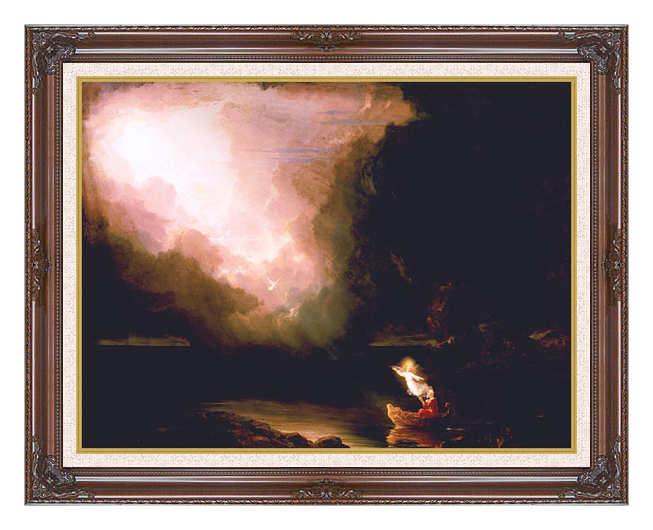 Thomas Cole The Voyage of Life: Old Age with Dark Regal Frame w/Liner