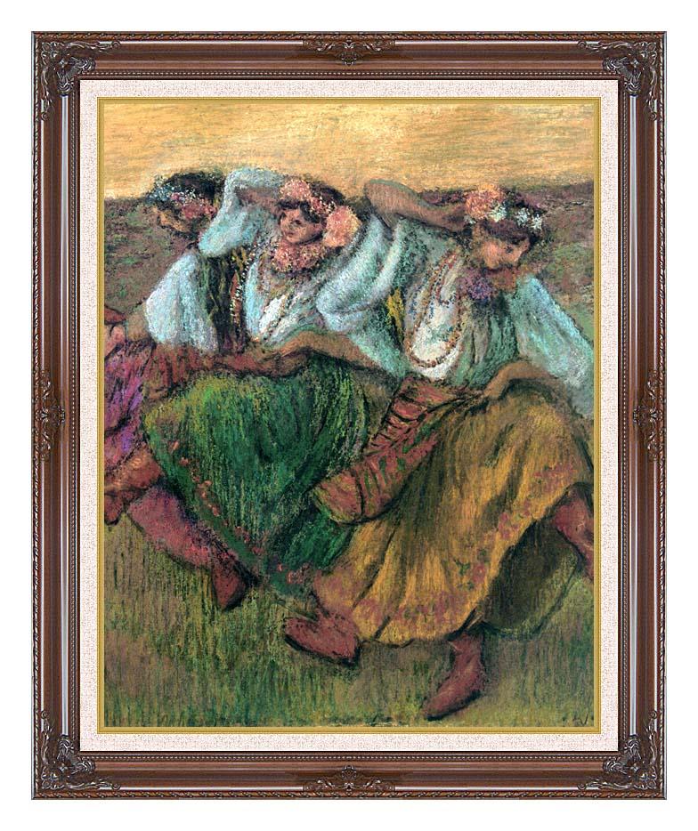 Edgar Degas Les Danseuses Russes with Dark Regal Frame w/Liner