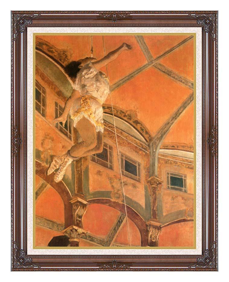 Edgar Degas Miss Lala at Cirque Fernando with Dark Regal Frame w/Liner