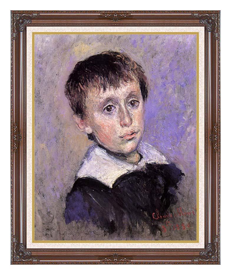 Claude Monet Jean Monet with Dark Regal Frame w/Liner