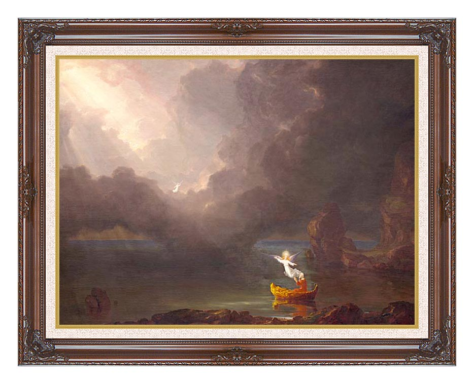 Thomas Cole Voyage of Life: Old Age 1842 with Dark Regal Frame w/Liner