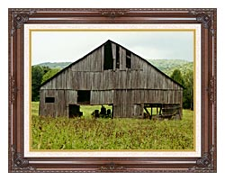Ray Porter Tennessee Playhouse canvas with dark regal wood frame