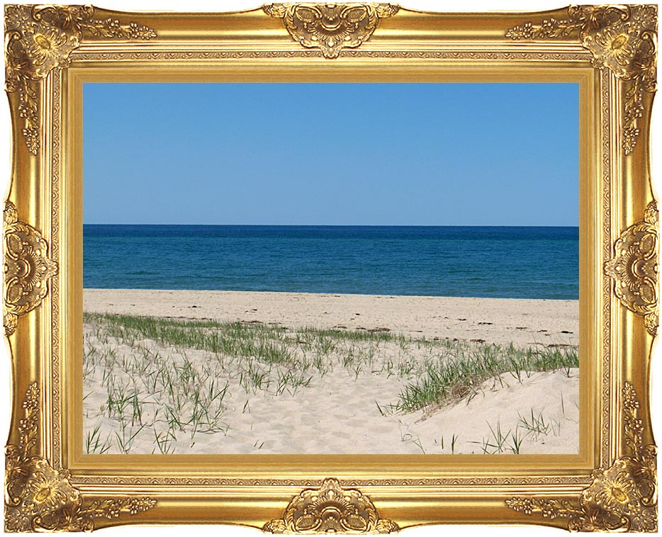 Brandie Newmon Race Point Beach, Provincetown Massachusetts with Majestic Gold Frame