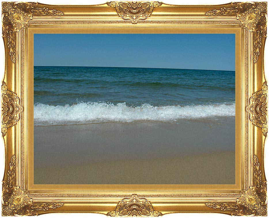 Brandie Newmon Race Point Beach in Provincetown Massachusetts with Majestic Gold Frame