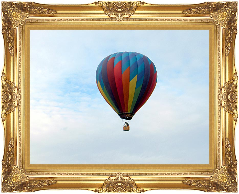 Brandie Newmon Hot Air Balloon with Majestic Gold Frame