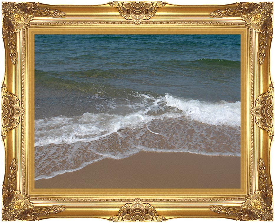 Brandie Newmon Sandy Beach in P-Town, Massachusetts with Majestic Gold Frame
