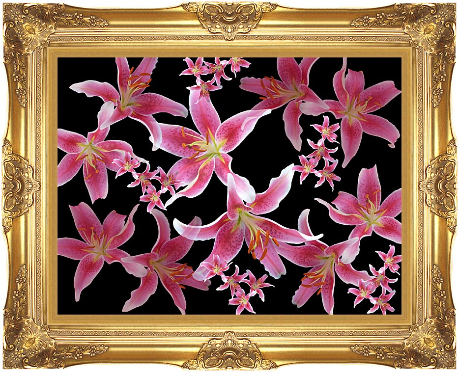 Brandie Newmon Lily with Majestic Gold Frame