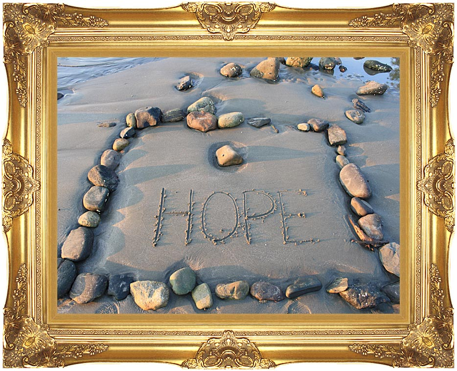 Kim O'Leary Photography Hope with Majestic Gold Frame