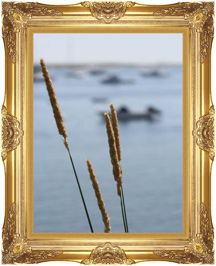 Kim O'Leary Photography Harbor Scene with Majestic Gold Frame