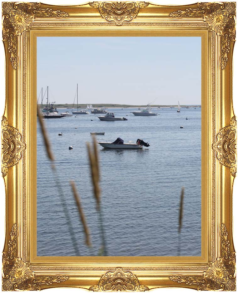 Kim O'Leary Photography Chatham Harbor with Majestic Gold Frame