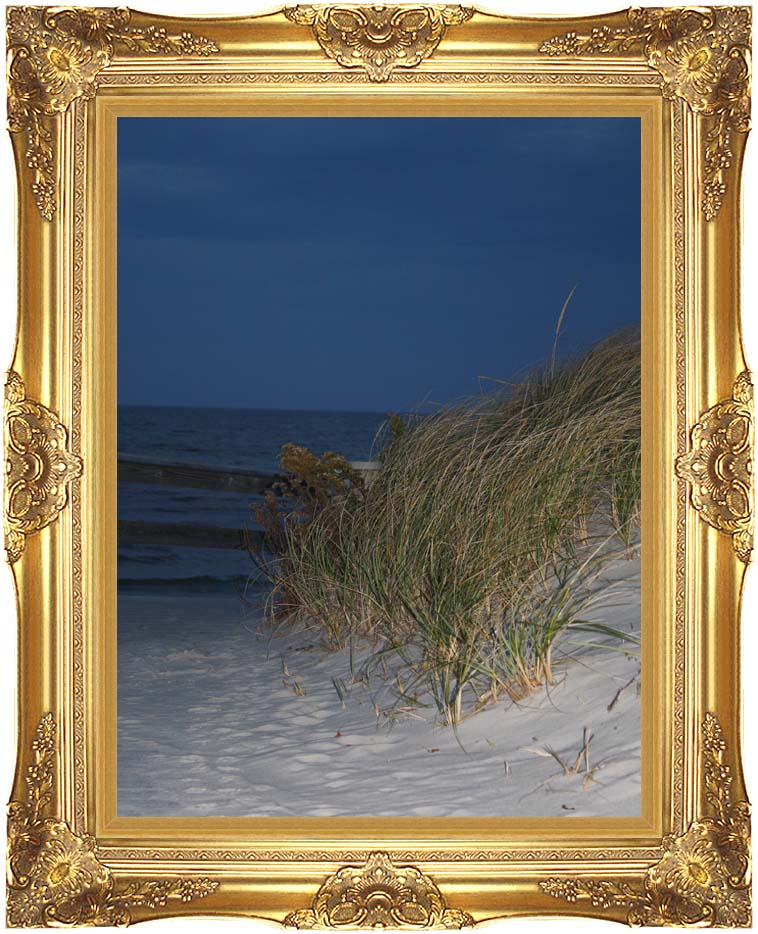 Kim O'Leary Photography Night Dunes with Majestic Gold Frame