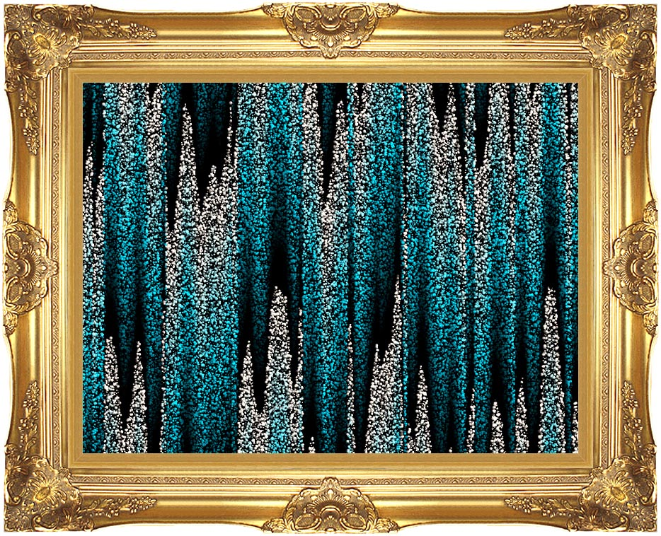 Lora Ashley Cascading Pearls with Majestic Gold Frame